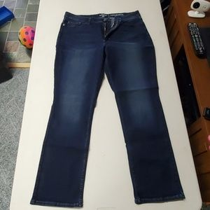 Riders by Lee mid rise straight leg size 16
